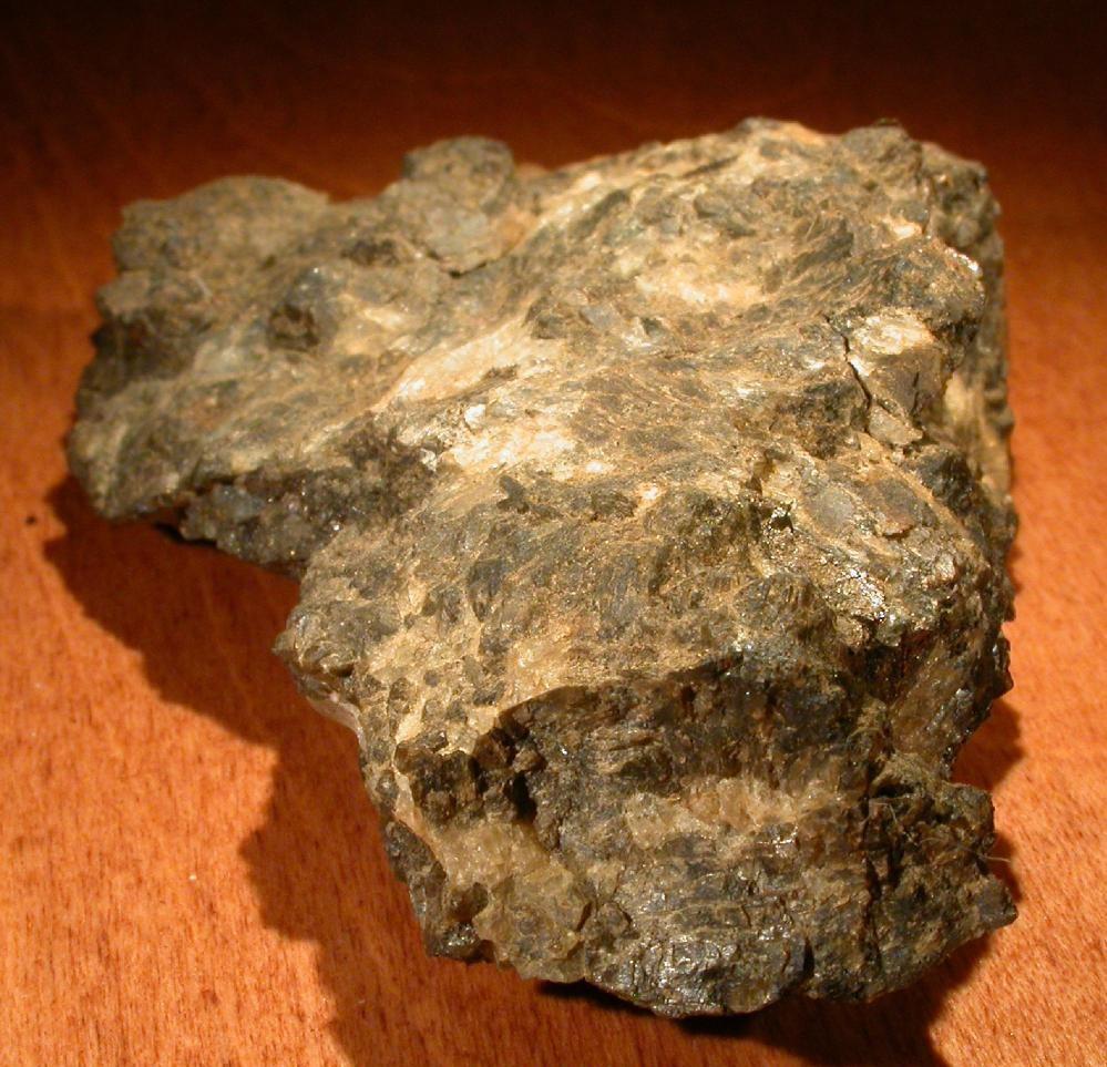 Палладий в минерале