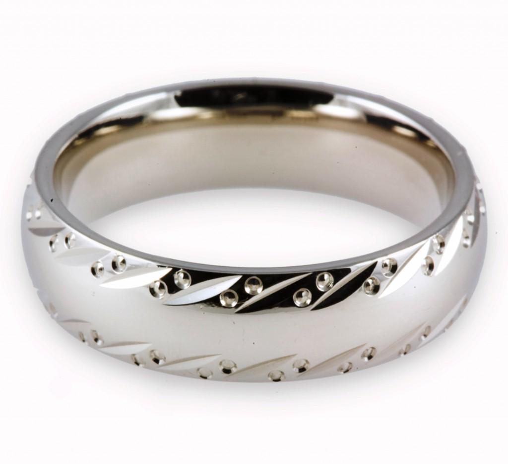 Внешний вид палладиевого кольца