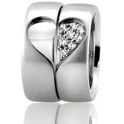 Парное свадебное кольцо