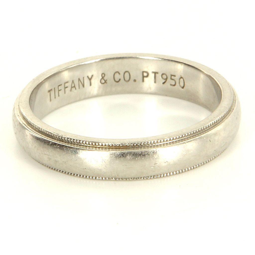 950 проба на кольце из платины