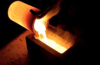 Плавление металла