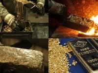 Каким образом переплавить золото