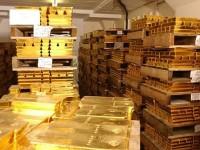 Объемы мировых запасов золота