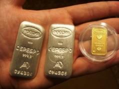 Приобретение слитков золота в Сбербанке