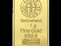 Формирование стоимости 1 грамма золота в Сбербанке