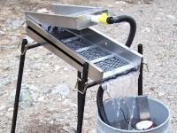 Использование промприбора для промывки золота