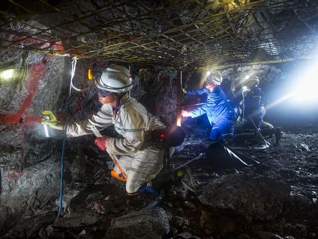 добыча руды закрытым способом
