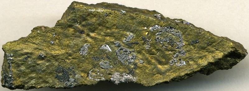 платино-медная руда