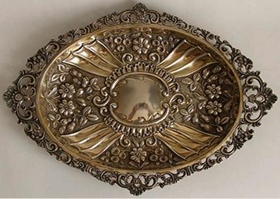 позолоченное серебро 925 пробы