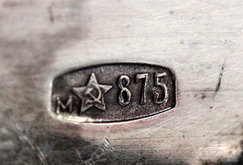клеймо 875 пробы со звездой на фото