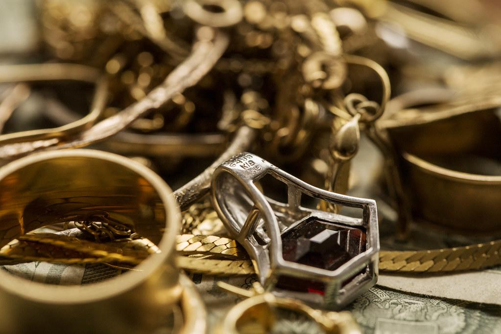 золото и серебро вместе